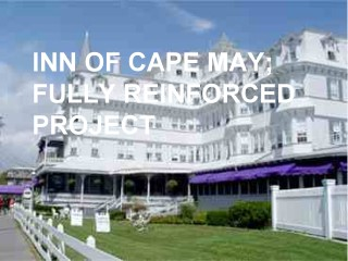 Inn of Cape May fully reinforced application by Roof Menders' crew
