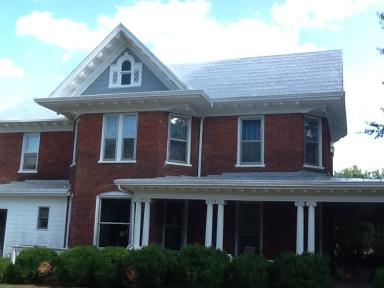 Grey Metal Shingles In Stuart Va Roof Menders Inc