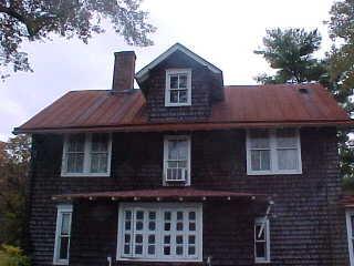 Historic Roof Restoration At Whitesbog Village New Jersey